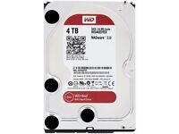 WD Red 4TB NAS HDD