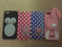 Selection of iPhone 5s/SE phone cases