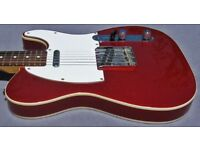 FENDER TELECASTER 1962 REISSUE FROM 1985 CANDY RED