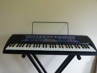 Casio Electric Keyboard with height adjustable Stand