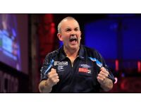 6 x TICKETS TO FINAL OF WORLD MATCHPLAY DARTS - GREAT SEATS!!! Sunday 30/07 Blackpool Winter Gardens