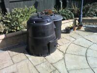 Garden compost bin 220litre