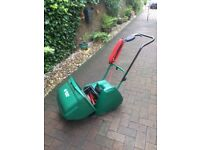 """Qualcast Suffolk Punch 14"""" Electric Cylinder Mower with Roller"""