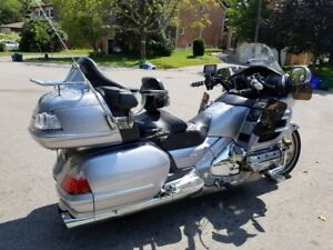Fully loaded Honda Goldwing with airbag, GPS and ABS