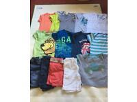 Boy 18-24months tops&shorts