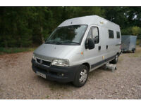 2006 Fiat DUCATO 18 JTD LWB MOTORHOME CAMPERVAN PRO CONVERTED FULLY LOADED MOT