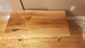 Live Edge Sycamore Coffee Table #2