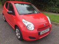 SUZUKI ALTO 1.0SZ2 09 REG 5 DOOR IN RED WITH GREY TRIM AND MOT AUGUST 2018