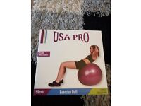 USA Pro Exercise Ball - brand new