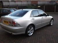 Lexus IS200I silver low miles