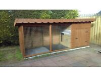 Dog run - 12x4 - includes base