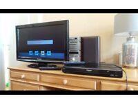 "Panasonic Viera 26"" Panasonic DMR-EX769 Freeview 160gb HDD"