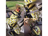 Cosatto giggle 2 pram/pushchair/buggy