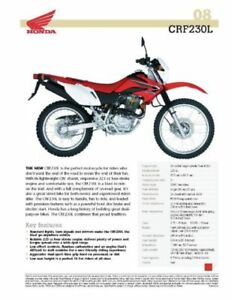 CRF230L- 307 km- barely used- with accessories