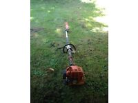 Stihl km 85 hedge cutter drive unit works as should hedge cutter attachment needs attention