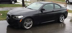 2016 BMW 228i sapphire black lease take over 6 speed manual