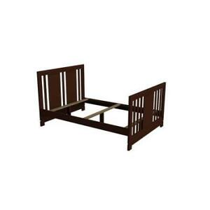 Conversion crib rails