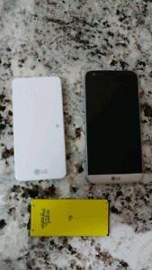 LG G5 and Extra Battery Pack