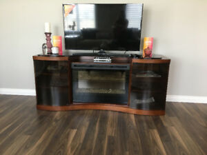 BRAND NEW Fireplace/TV Storage Unit