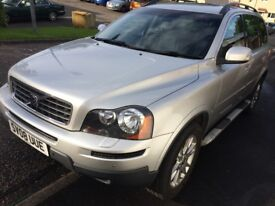 Volvo XC90 AWD 2008 Automatic Silver 7 Seats Smoke Pet Free Geartronic