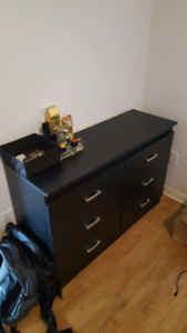 Black Dresser - Great Condition - Must Go!