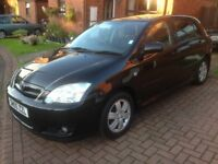 2005 TOYOTA COROLLA 1.4 VVTI, FULL SERVICE HISTORY WITH 10 STAMPS