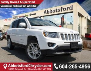 2014 Jeep Compass Limited Leather, Backup Camera & Sunroof!