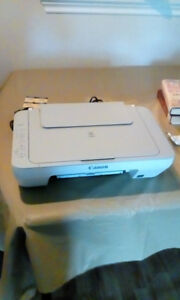 Brand New Never Used B+W & Colour Cannon Printer + Scanner