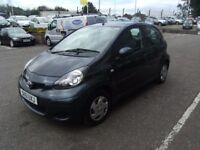 2011 61 TOYOTA AYGO 1.0 VVT-I ICE 5D 68 BHP **** GUARANTEED FINANCE **** PART EX WELCOME ****