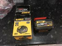 Dewalt flex battery