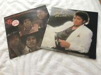 Michael Jackson vinyls x 2