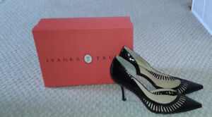 BLACK HIGH HEELS SHOES BY '' IVANKA TRUMP '' FOR SALE