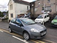 06 fiat grande punto 1.2 active 5 door, new mot nice car