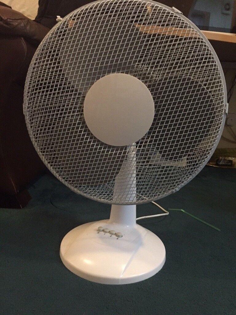 Ced 16 Inch Oscillating Desk Fan