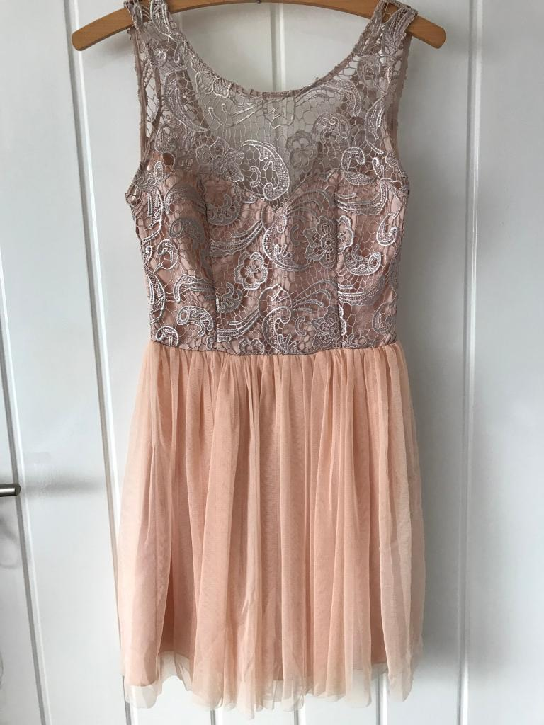 Pink dressin Prestwick, South AyrshireGumtree - Pink lipsy dress from 2011 low cut back perfect condition only worn once size 6 looks exactly like the photo