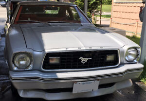 Classic 1978 Ford Mustang