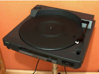 AKAI AP-M600 Turntable Semi Auto Servo Assisted - Audio Technica Stylus