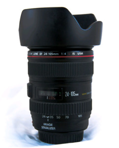 Canon 24-105 L IS EF mount lens