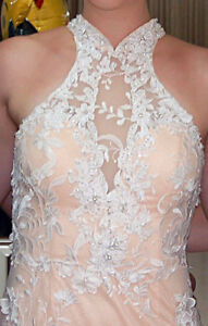 size 8 Prom dress (or Wedding dress) for sale