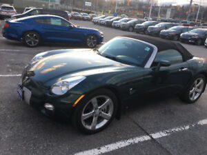 2007 Pontiac Solstice Convertible Manual  Low KM  Excel shape