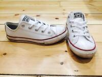 Leather converse size 2