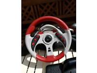 MadCatz 2 Steering wheel and pedals