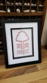 Nottingham Forest word art gift idea