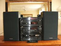 Technics 1990 Retro HI-FI Stereo System