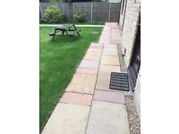 Patio and block paving cleaning, pressure washing