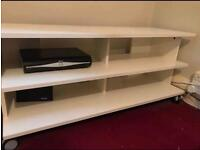 IKEA TV BENCH BENNO IN WHITE JUST COLLECTION