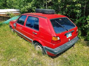 1993 Volkswagen Golf Hatchback