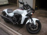 2015 SUZUKI VZR 1800cc INTRUDER IN AS NEW CONDITION WITH A LOW GENUINE MILEAGE 0F JUST 868 FROM NEW