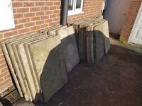 40 Concrete Slabs 3 x 2