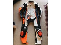 KTM RSX 14 CUSTOM LEATHER RACE SUIT CLOTHING L/52 GIMOTO GIMOTO POWERWEAR SMC DUKE